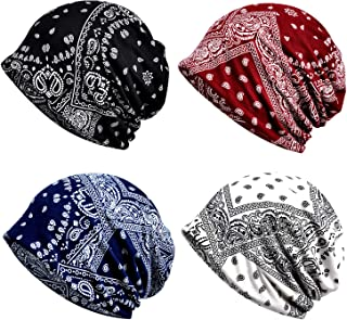 Cotton Fashion Beanies Chemo Caps Cancer Headwear Skull Cap Knitted hat Scarf for Women