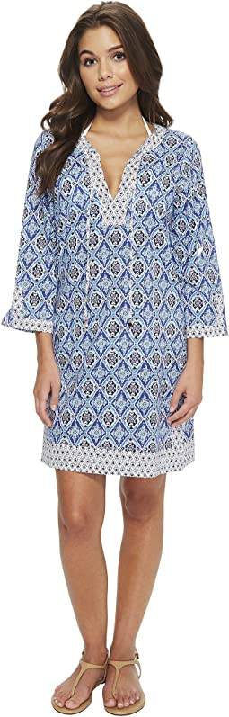 Tommy Bahama Tika Tiles Tunic Cover-Up