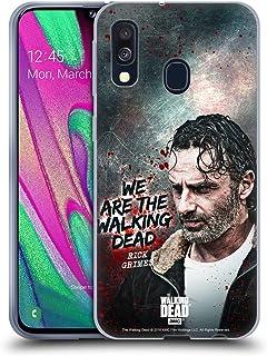Officiel AMC The Walking Dead Rick Portraits Filtrés Coque en Gel molle pour Samsung Galaxy J5 (2017)