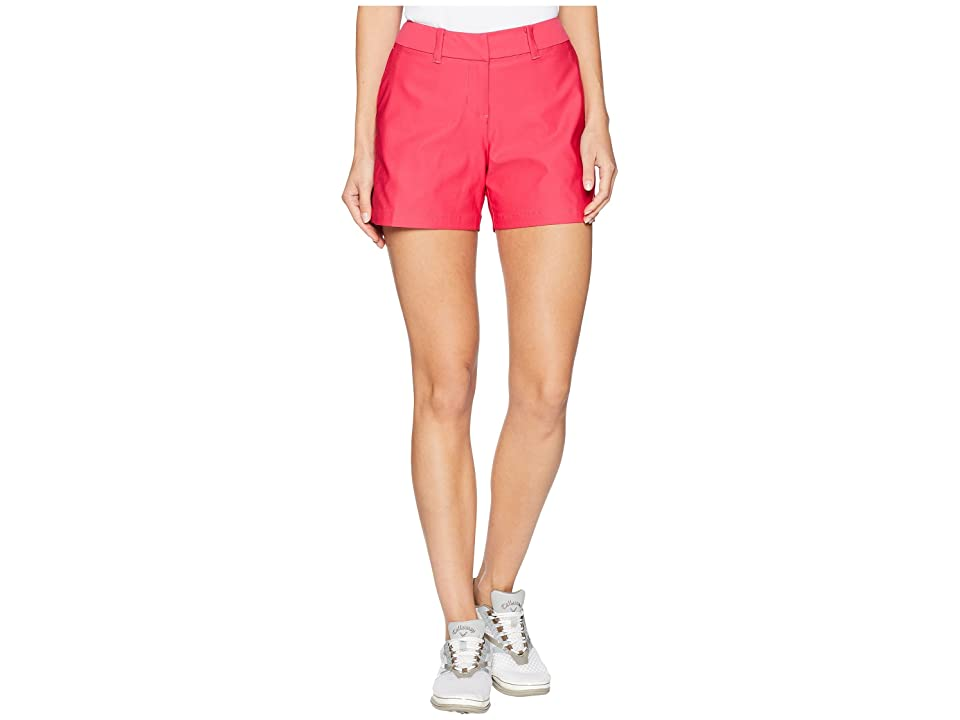 Nike Golf Flex Shorts Woven 4.5 (Rush Pink/Rush Pink) Women