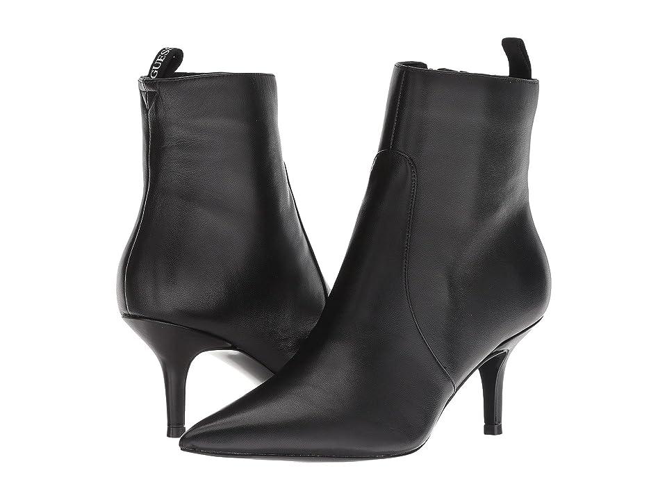 GUESS Deidra (Black Leather) Women