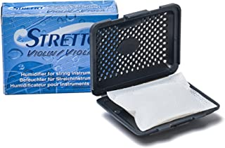 STRETTO 1010 Humidifier for Violin, Viola and Small Instruments incl. case and 2 humid Bags (STR-1010)