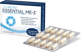 Reg'Activ Essential ME-3, 30 Capsules. A Glutathione-producing Probiotic That Delivers Glutathione to The Intestine for Ef...