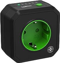 ANSMANN Timer stopcontact AES1 - schakelbaar energiebesparend stopcontact met countdown timer voor ventilatorkachels, stri...