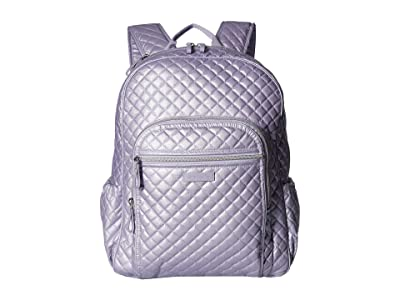 Vera Bradley Iconic Campus Backpack (Lavender Pearl) Backpack Bags