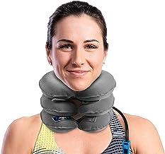 بهترین بروشور گردن گردن و گردن برس توسط BRANFIT، قابل انعطاف و قابل تنظیم ایالات متحده طراحی گردن پشتیبانی و برانکارد مناسب برای ترمیم ستون فقرات و تسکین درد مزمن گردن