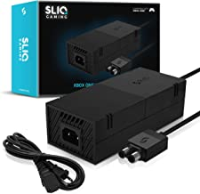 Sliq Gaming Xbox One Power Supply with Power Cable Replacement for Xbox One - Includes 1-Year Warranty