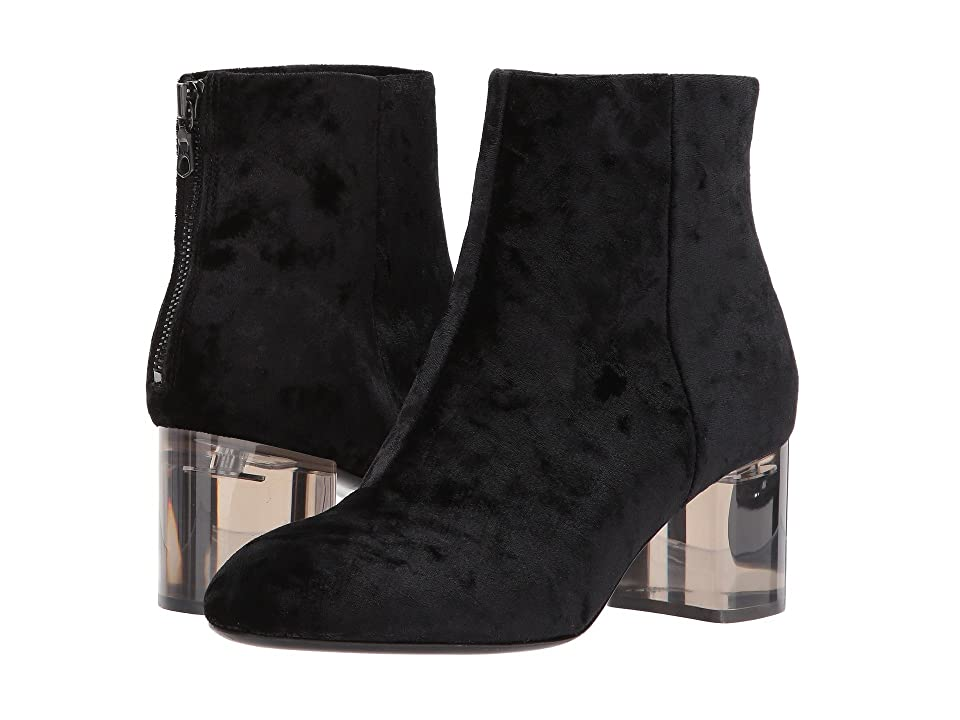 rag & bone Drea Boot (Black Velvet) Women