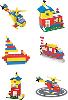 Toyztrend Expert Building Blocks for Kids, 180+ Pieces Blocks. let Your Kid Make Everything he/she Dreams of. Improves Log...