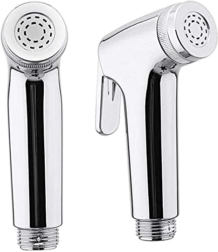 INDOROX Make in India ABS Health Faucet Shower Toilet Jet Spray Silver Standard Size Set of 2Pcs