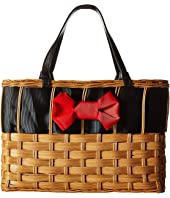 Frances Valentine - Edie Basket with Bow