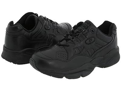 Propet Stability Walker Medicare/HCPCS Code = A5500 Diabetic Shoe (Black Leather) Men