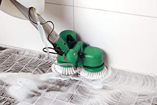 BISSELL BigGreen BGCC1000-KIT1 Bissell Commercial Battery Dual Brush Scrubber, Resin, Plastic