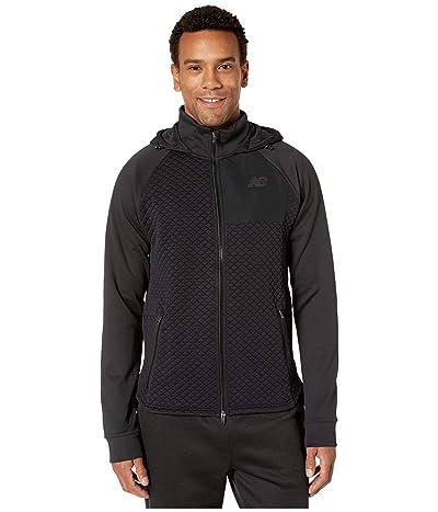 New Balance NB Heat Loft Full Zip Hooded Jacket (Black) Men