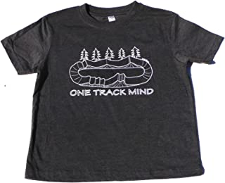 Toddler & Kids BMX Bike Tee Shirt One Track Mind for Youth Boys