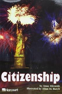 Harcourt School Publishers Trophies: Advanced-Level Grade 4 Citizenship