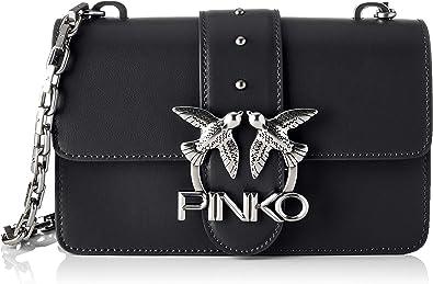 Pinko, Love Mini Icon Simply 8 CL Vit para Mujer, Talla única