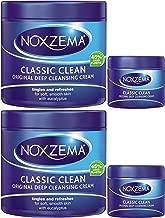 Noxzema Classic Clean Original Deep Cleansing Cream, 12 Ounce [With Bonus 2 Ounce] (Pack of 2)