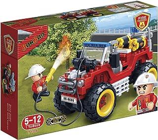 Banbao Fire Series 148 Pcs 7106 - Red