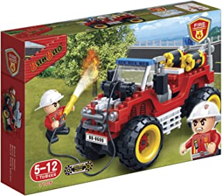 Banbao Fire Series 148 Pcs 7106 - Red
