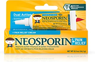 Neosporin Pain Relief Cream For Kids Ages 2 0 5 oz 14 2 g