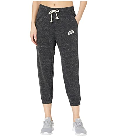 Nike NSW Gym Vintage Capris (Black/Sail) Women