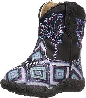 Roper Kids' Glitter Diamonds Western Boot