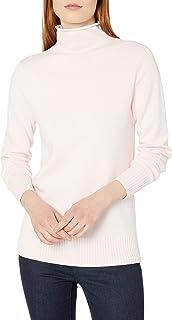 Amazon Essentials Jersey de Manga Larga 100% algodón con Cuello Redondo Chamarra para Mujer