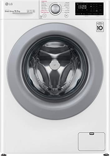 Lg lavatrice a carica frontale 10.5 kg 1400 giri/min intelligenza artificiale ai dd funzione vapore motore F4WV310S4E.ABWQWIS