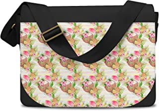 Aloha Coconut Stripes Messenger Bag - One Size Messenger Bag