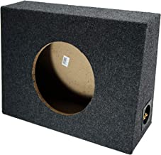 "Single 10"" Subwoofer Regular Standard Cab Truck Sub Box Enclosure 5/8"" MDF"