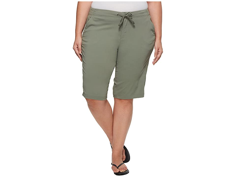 Columbia Plus Size Anytime Outdoortm Long Short (Cypress) Women