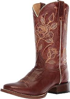 حذاء Steppin Out Western للنساء من Roper ، بني، 8 D US