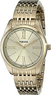 Pulsar Women's PG2010 Analog Display Japanese Quartz Gold Watch