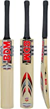 BDM Commander Max Power English Willow Wood Adult Sizes Cricket Bat Carry Case - Choose Weight