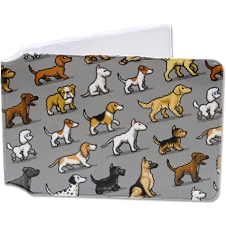 Pixel Pooches - Doggy Oyster Card Holder