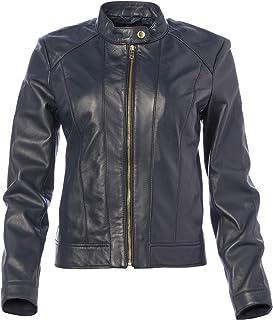 Cole Haan womens Cole Haan Racer Jacket Leather Jacket