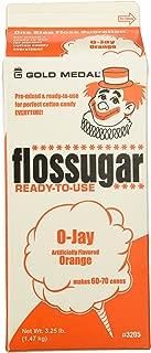 Cotton Candy Sugar Floss (3.25 LBS) (Orange)