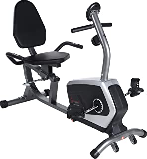 Sunny Health & Fitness Magnetic Recumbent Bike Exercise...