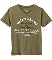 Lucky Brand Kids - Good Fortune Short Sleeve Tee (Toddler)