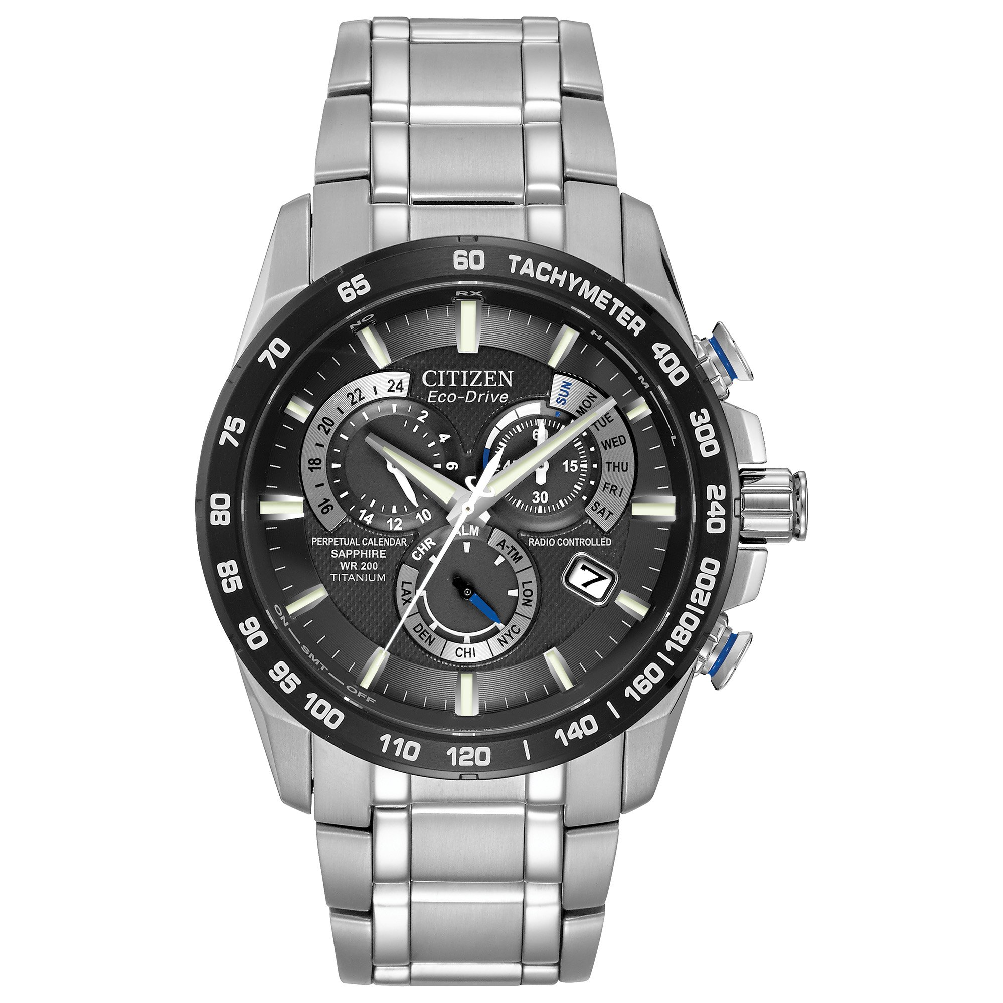 Citizen Eco Drive Perpetual Timekeeping AT4010 50E