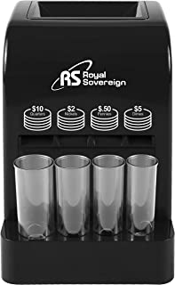 Royal Sovereign Battery Operated Coin Sorter (DCB-175B)