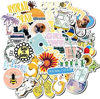 50 PCS Vsco Stickers Pack for Kawaii Girl Things On Laptop Fridge Phone Skateboard Suitcase Waterproof Sticker