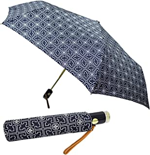 Tory Burch Umbrella Women's TB Logo Blue Navy