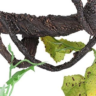 Nietoksyczny wystrój terrarium, sztuczne pnącze, pnącze winorośli, bezpieczne trwałe i wytrzymałe dla zwierząt terraria Kl...