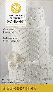 Wilton Decorator Preferred White, 5 lb. fondant, Pack of 1 Pack of 1 710-2300