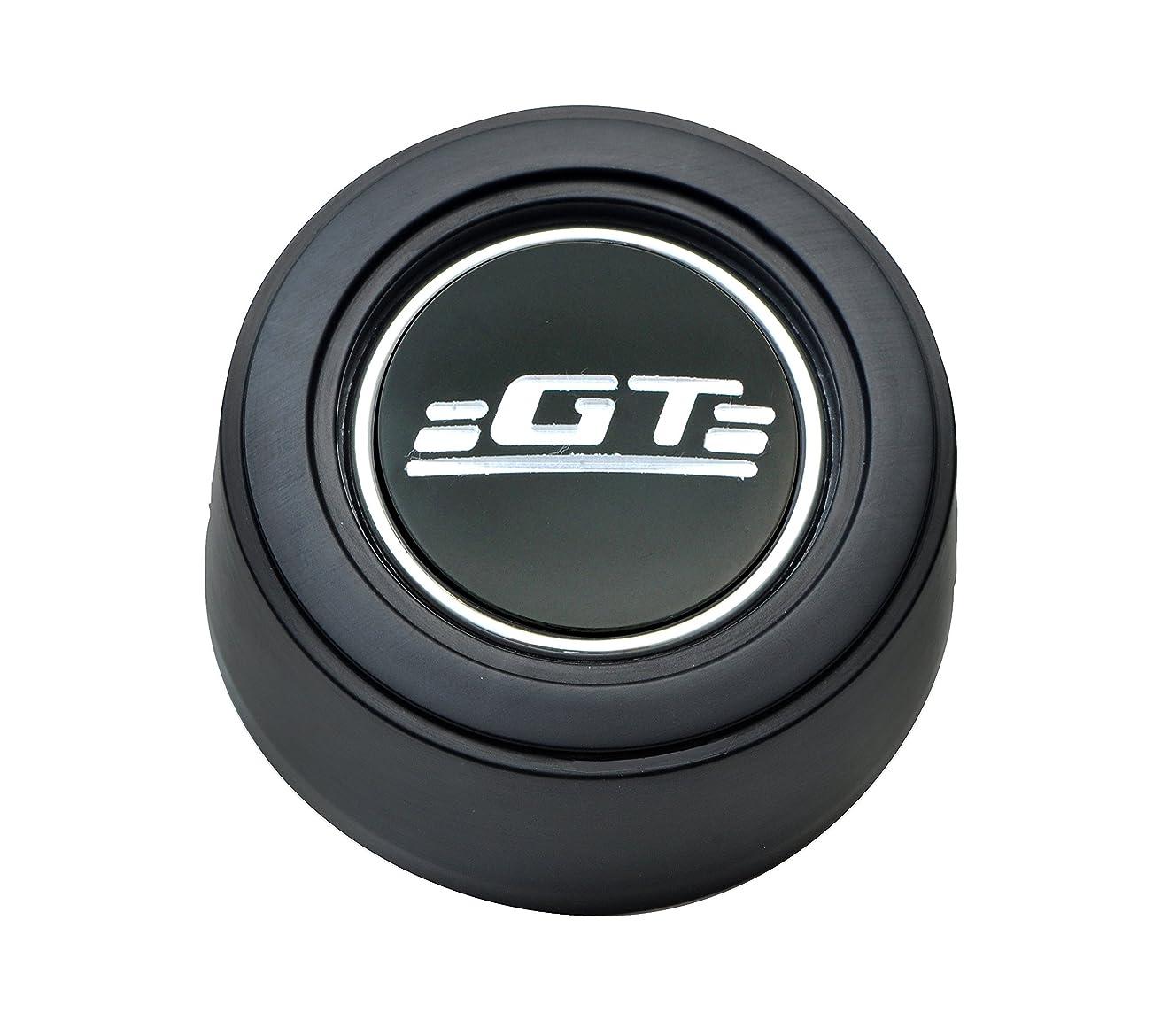 GT Performance 21-1524 Hi-Rise Horn Button with GT Emblem, Black