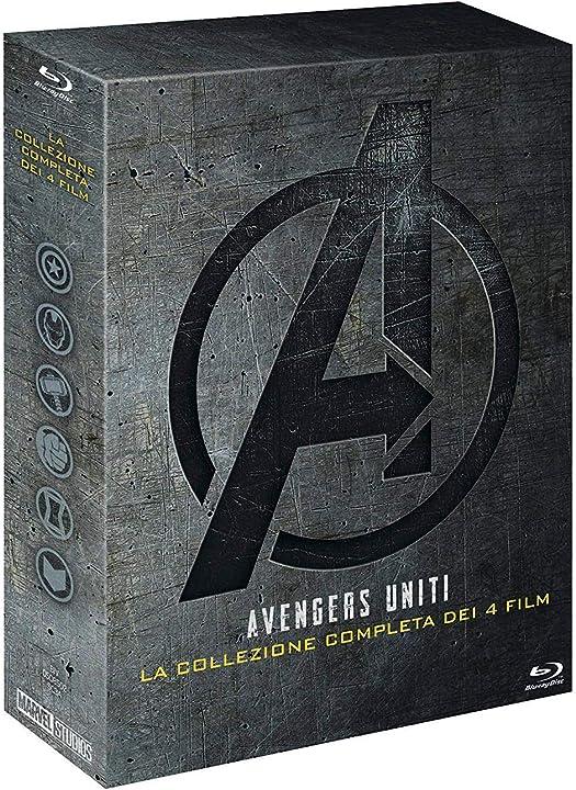 Marvel avengers collezione 1-4 (5 blu ray) B07QTCBSQD
