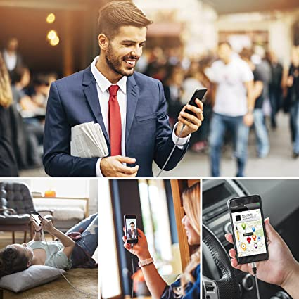 Puridea USB 3.0 Cable Tipo C(2Piezas,1,5metros)Cable de nilón telado de tipo C,Para Samsung,Sony ,Nexus 5X/6P,HTC,LG G5/G6,Lumia 950/XL,Huawei P9/P10 ...