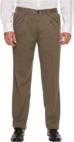 Big & Tall Easy Khaki Pleated Pants